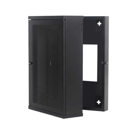 Wall Mount Mesh Door Cabinet 18U630