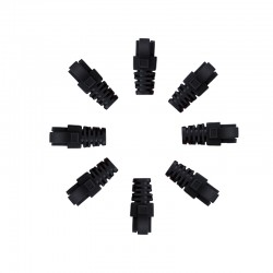RJ45 Sheath Black 100 Pack