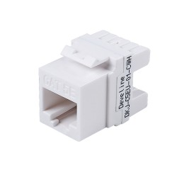 Cat5e Unshielded Module White