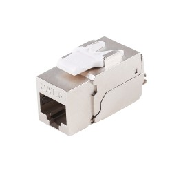 Cat6 Shielded Module Silver