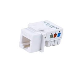 RJ11 Phone Module White
