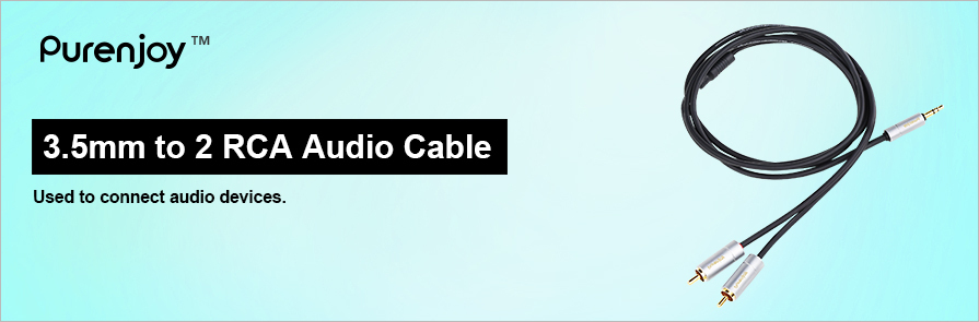 3.5mm - RCA Audio Cable
